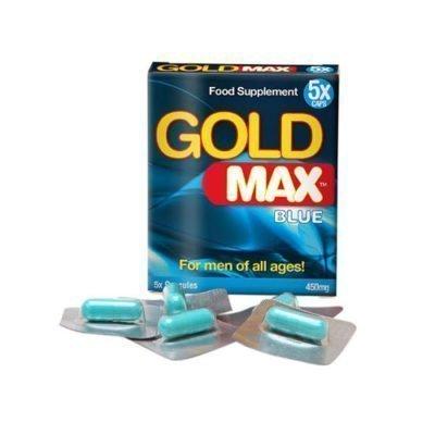 gold max blue 5 capsules