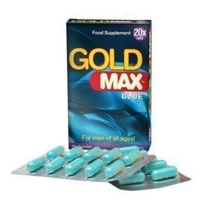 gold max blue 20 capsules